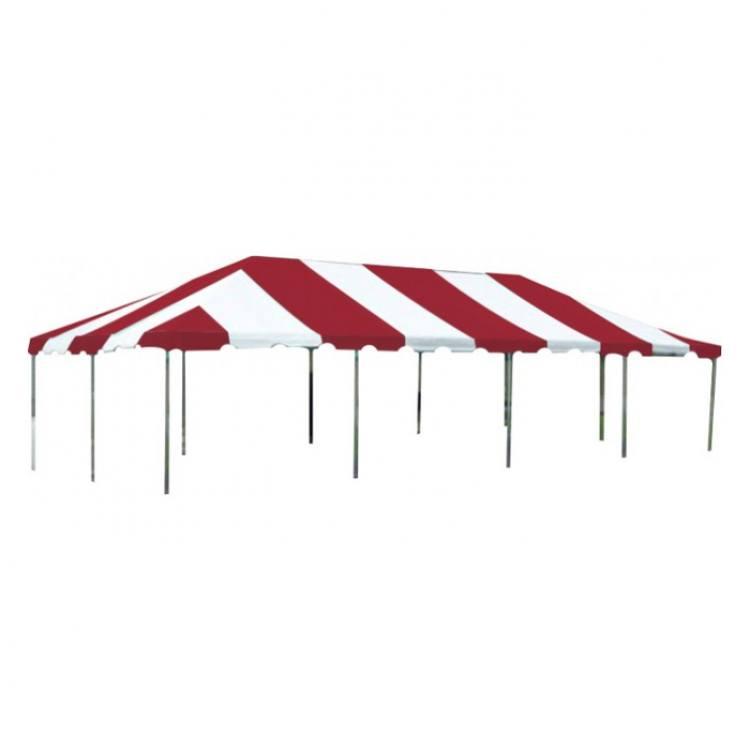 Tent - 20x40 Red/White Low Peak