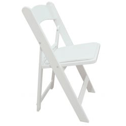 Chairs - White Resin