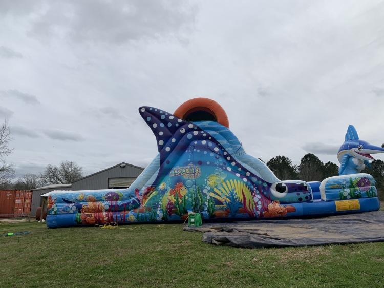 Water Slide - Marlin Splash (18' High)