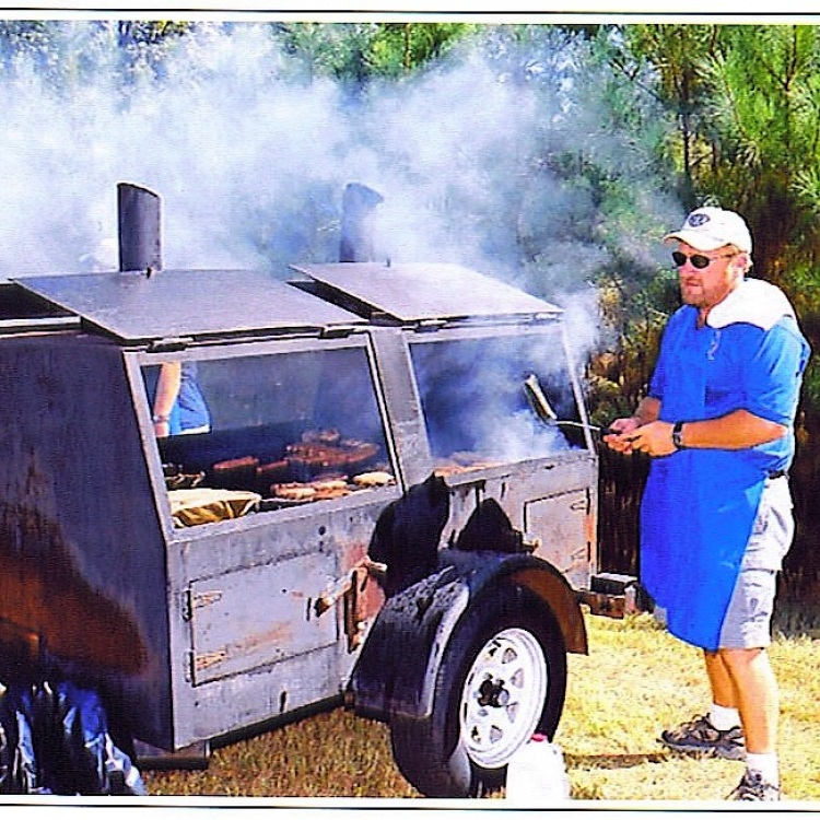 Grill - Trailer Mounted Charcoal