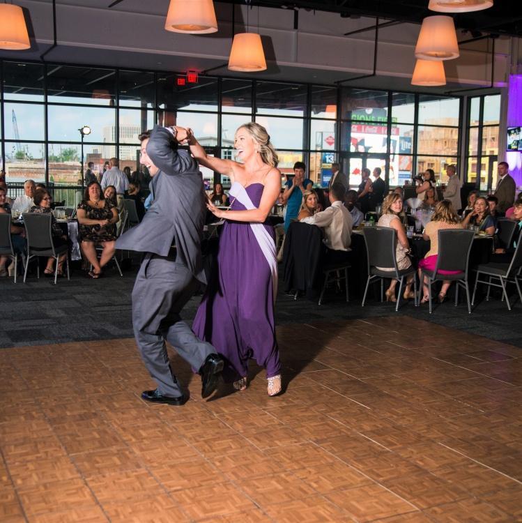 Dance Floor - Teakwood 15x18